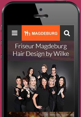 Friseur Magdeburg in der Cityguide APP