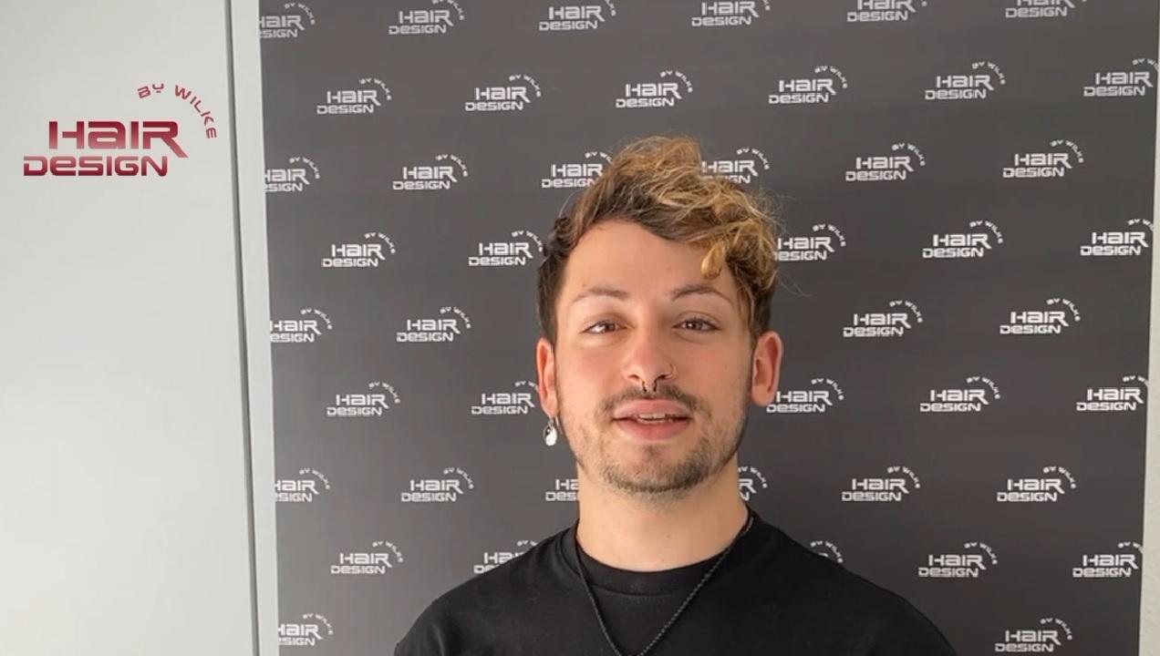 Hairdesign by Wilke neues Teammitglied Benjamin Baldwin